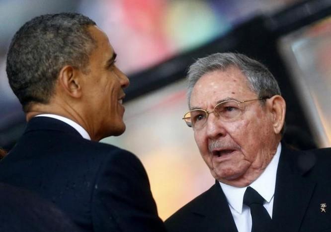 Tổng thống Mỹ Barack Obama thực hiện bình thường hóa quan hệ với Cuba. Ảnh: Reuters