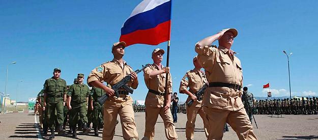 Quân đội Nga ở Tajikistan (ảnh minh họa)