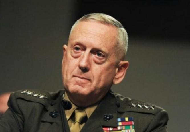 Tổng thống đắc cử Mỹ Donald Trump chọn Thượng tướng Thủy quân lục chiến, ông James Mattis làm Bộ trưởng Quốc phòng. Ảnh: Guancha