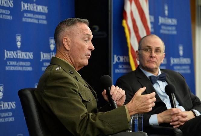Đại tướng Joseph Dunford, Chủ tịch Hội đồng Tham mưu trưởng Liên quân Mỹ.