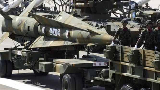 Tên lửa của Quân đội Hàn Quốc. Ảnh: Cankao