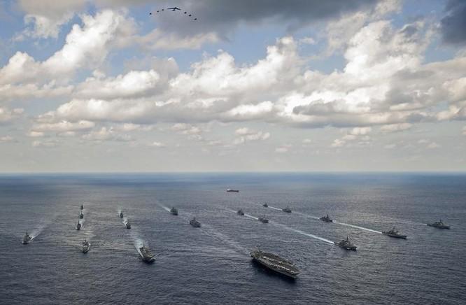 Quân đội Mỹ và Nhật Bản trong cuộc tập trận chung Keen Sword ngày 19/11/2014 (ảnh tư liệu)