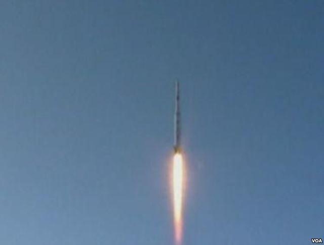 Triều Tiên bắn tên lửa (ảnh tư liệu)