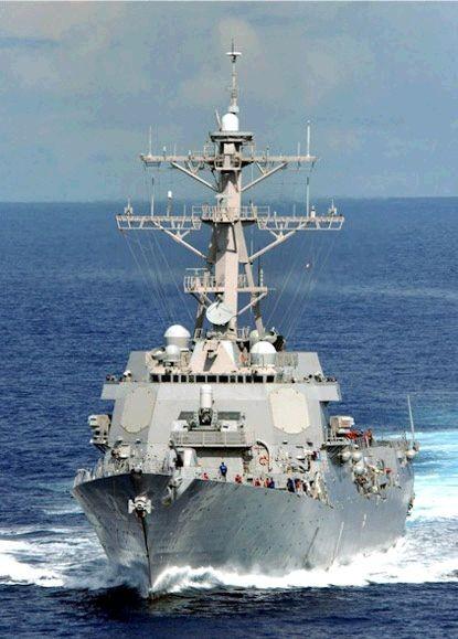 Tàu khu trục tên lửa USS Lassen DDG-82 Hải quân Mỹ từng tiến hành tuần tra trên Biển Đông (ảnh tư liệu)