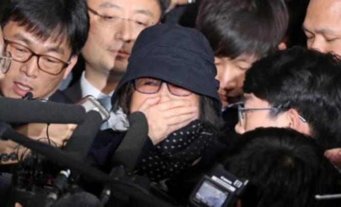 Bà Choi Soon-sil, người bạn thân của bà Park Geun-hye (ảnh tư liệu)