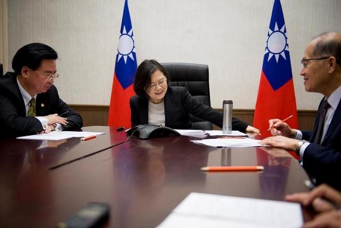 Nhà lãnh đạo Đài Loan, bà Thái Anh Văn. Ảnh: Newsweek