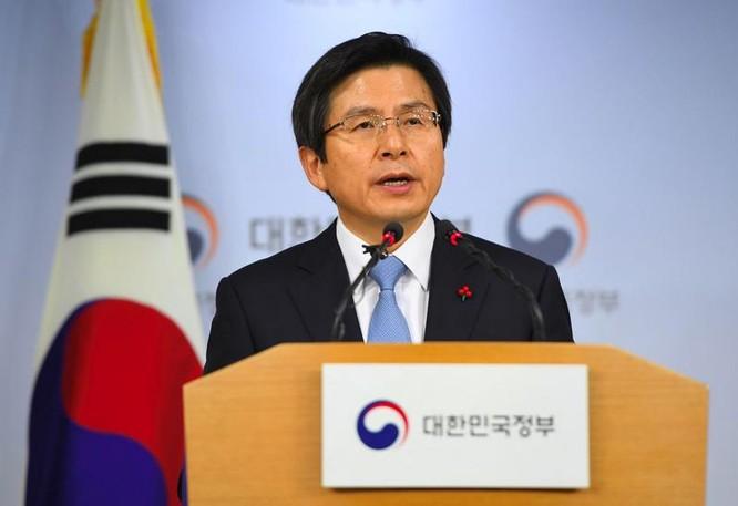 Quyền Tổng thống Hàn Quốc Hwang Kyo-ahn (ảnh tư liệu)