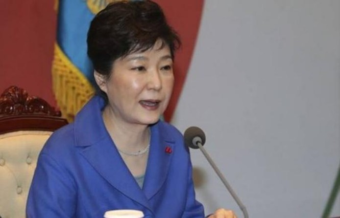 Bà Park Geun-hye (ảnh tư liệu)