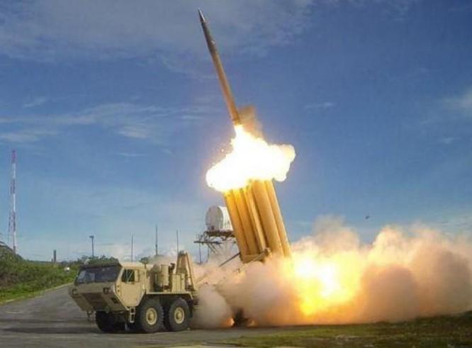 Hệ thống phòng thủ khu vực tầm cao đoạn cuối (THAAD) Mỹ. Ảnh: Thời báo Hoàn Cầu