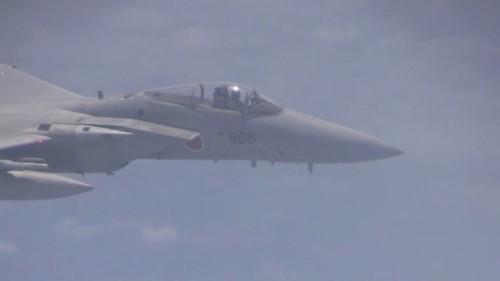 Máy bay chiến đấu F-15J Nhật Bản (ảnh tư liệu)