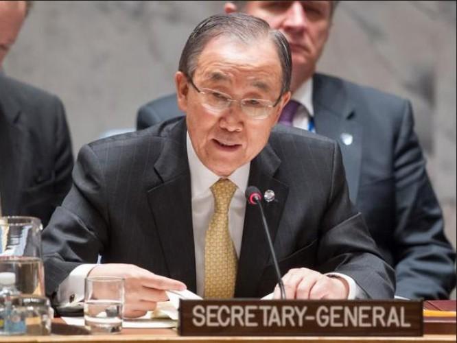 Tổng thư ký Liên hợp quốc Ban Ki-moon. Ảnh: The Independent