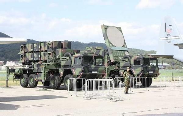 Hệ thống phòng không Patriot Hàn Quốc (ảnh tư liệu)