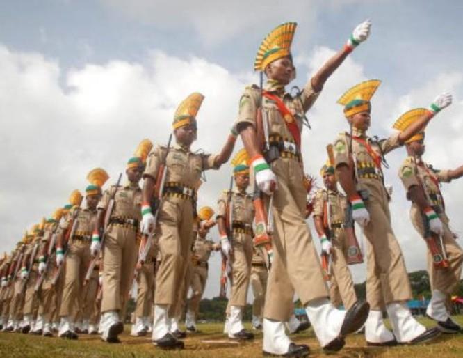 Binh sĩ Quân đội Ấn Độ trong ngày Độc lập. Ảnh: Cankao