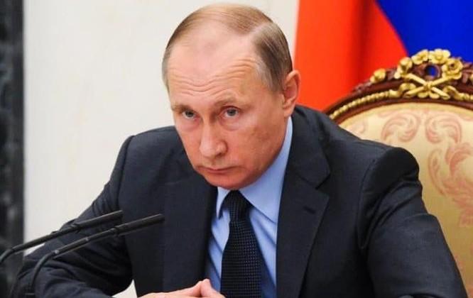 Nga dưới thời Tổng thống Vladimir Putin đã thực hiện chiến dịch quân sự quy mô kéo dài ở Syria trong cuộc chiến chống IS. Ảnh: The Telegraph.