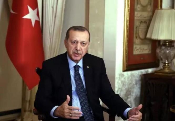 Tổng thống Thổ Nhĩ Kỳ Recep Tayyip Erdogan. Ảnh: CCTV