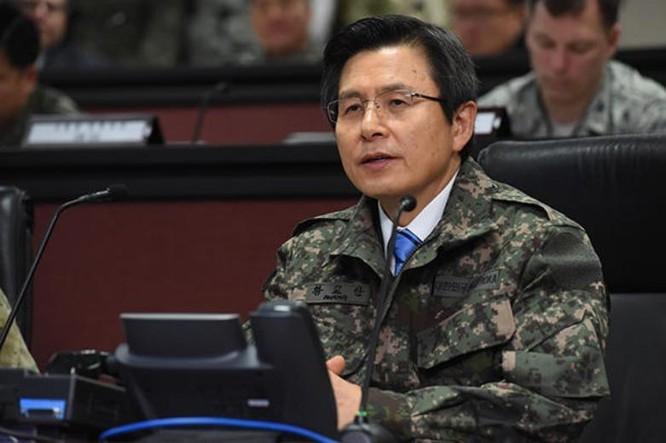 Quyền Tổng thống Hàn Quốc Hwang Kyo-ahn. Ảnh: Bành Bái