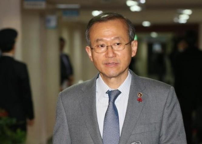 Thứ trưởng Ngoại giao Hàn Quốc Lim Sungnam. Ảnh: Yonhap News