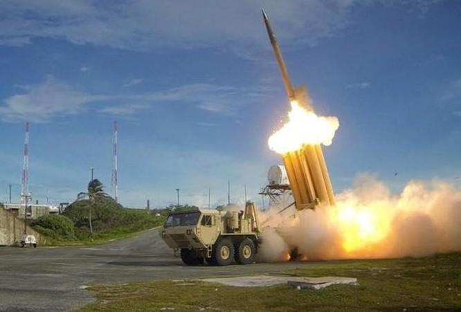 Hệ thống phòng thủ khu vực tầm cao đoạn cuối (THAAD) Mỹ. Ảnh: The Japan Times