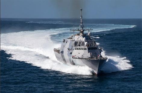 Tàu tuần duyên USS Freedom, Hải quân Mỹ (ảnh tư liệu)