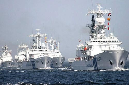 Đội tàu tuần tra Nhật Bản (Ảnh tư liệu)