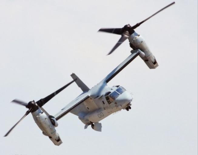 Máy bay vận tải V-22 Osprey do Mỹ chế tạo (ảnh tư liệu)