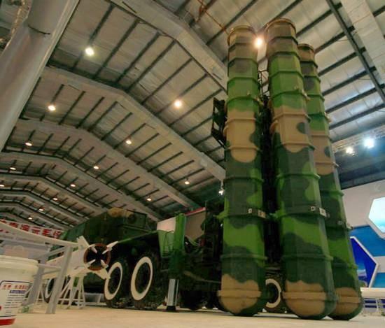 Tên lửa phòng không thế hệ mới FD-2000 Trung Quốc (ảnh tư liệu)
