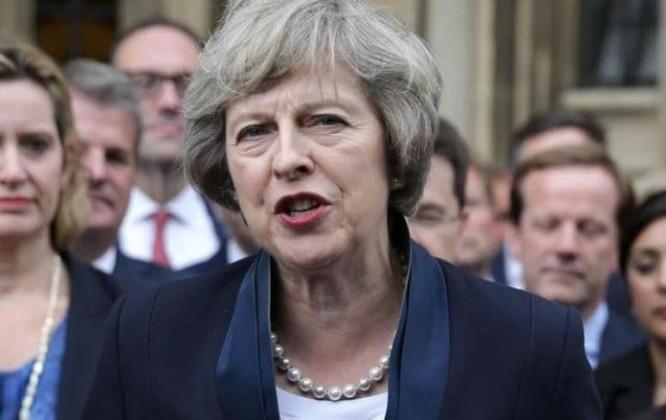 Bà Theresa May, Thủ tướng Anh. Ảnh: The Telegraph