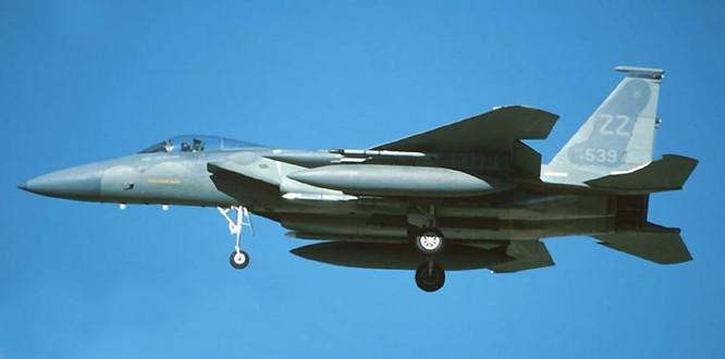 Máy bay chiến đấu F-15C Mỹ (ảnh tư liệu)