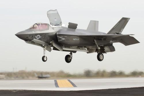 Máy bay chiến đấu F-35B do Mỹ chế tạo (ảnh tư liệu)