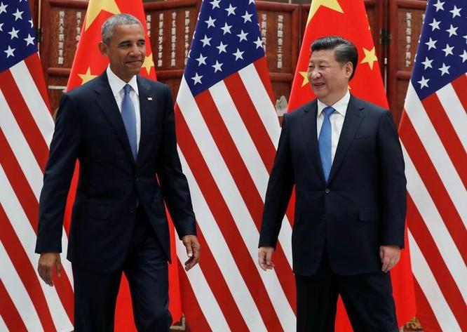 Quan hệ Trung-Mỹ thời gian tới sẽ có nhiều diễn biến khó lường. Trong hình là Tổng thống Mỹ Barack Obama và Chủ tịch Trung Quốc Tập Cận Bình. Ảnh: The Japan Times