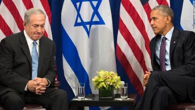 Quan hệ không mấy suôn sẻ giữa Mỹ và Israel dưới thời Tổng thống Barack Obama. Trong hình là Thủ tướng Israel Benjamin Netanyahu và Tổng thống Mỹ Barack Obama. Ảnh: Pinterest