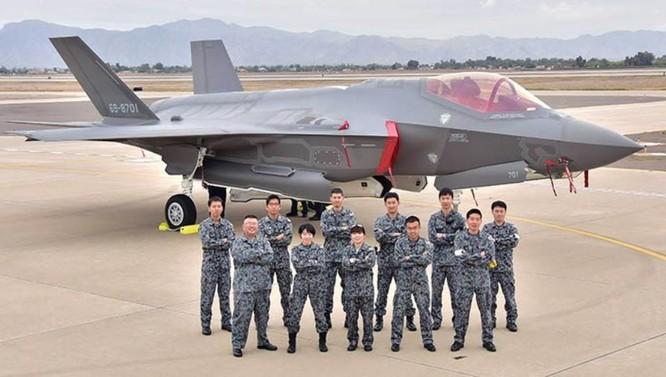 Nhật Bản được bàn giao máy bay chiến đấu F-35 (ảnh tư liệu)