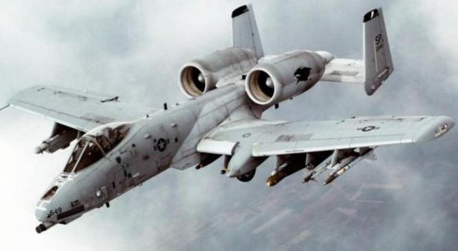 Máy bay tấn công A-10 của Quân đội Mỹ. Ảnh: Cankao
