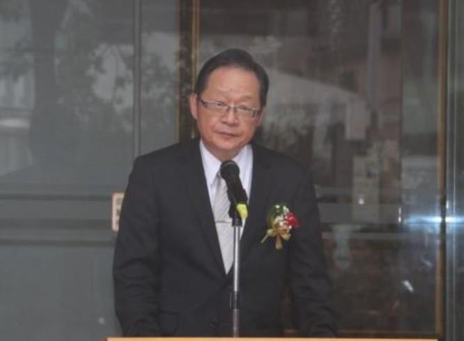 Thứ trưởng Ngoại giao Đài Loan Lý Trừng Nhiên tại buổi lễ. Ảnh: VOA