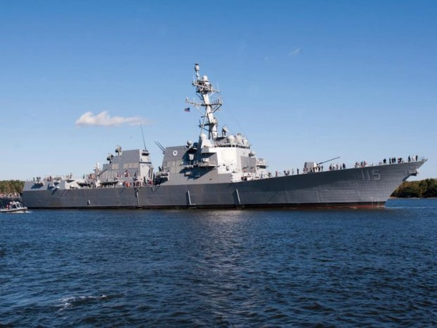 Tàu khu trục Rafael Peralta lớp Arleigh Burke, Hải quân Mỹ. Ảnh: Navaltoday