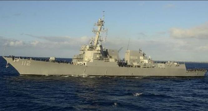 Tàu khu trục Michael Murphy DDG-112 Hải quân Mỹ. Ảnh: WordPress
