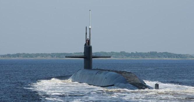 Tàu ngầm hạt nhân chiến lược lớp Ohio Hải quân Mỹ (ảnh tư liệu)
