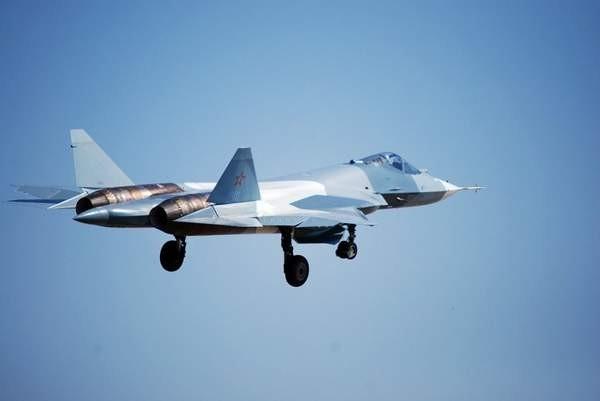 Máy bay chiến đấu tàng hình thế hệ thứ năm T-50 Nga (ảnh tư liệu)