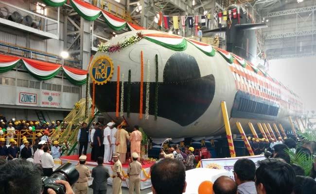 Tàu ngầm INS Kalvari lớp Scorpene Ấn Độ, công nghệ Pháp (ảnh tư liệu)