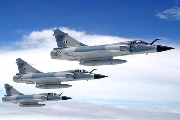 Máy bay chiến đấu Mirage-2000 của Không quân Ấn Độ, do Pháp chế tạo (ảnh tư liệu)