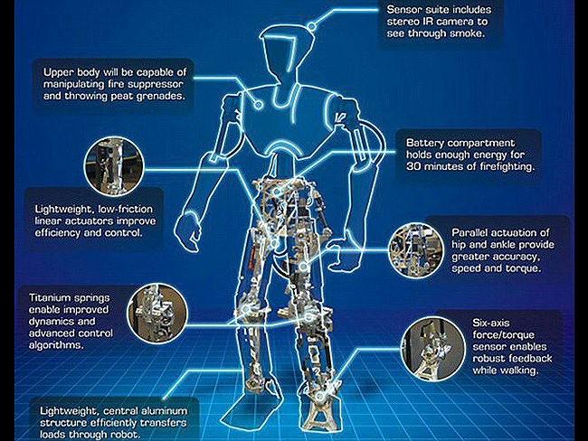 Công nghệ robot (người máy) của Hải quân Mỹ (ảnh tư liệu)