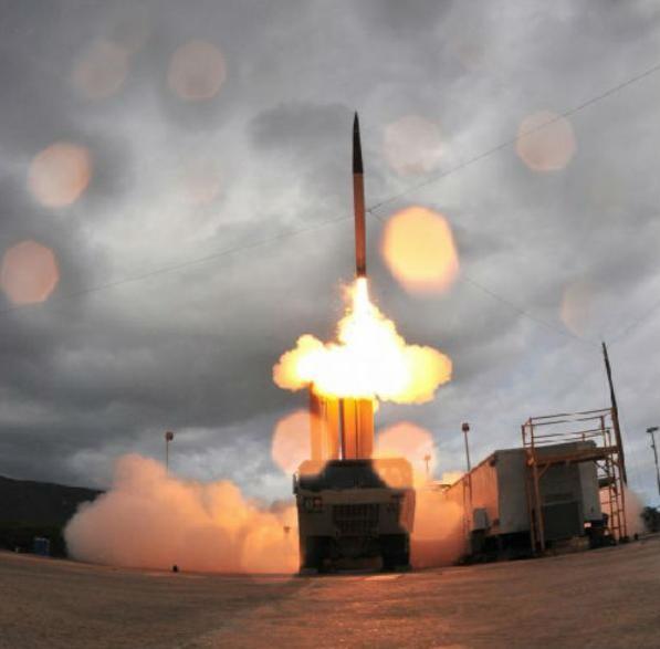 Hệ thống phòng thủ khu vực tầm cao đoạn cuối (THAAD) Mỹ. Ảnh: Cankao