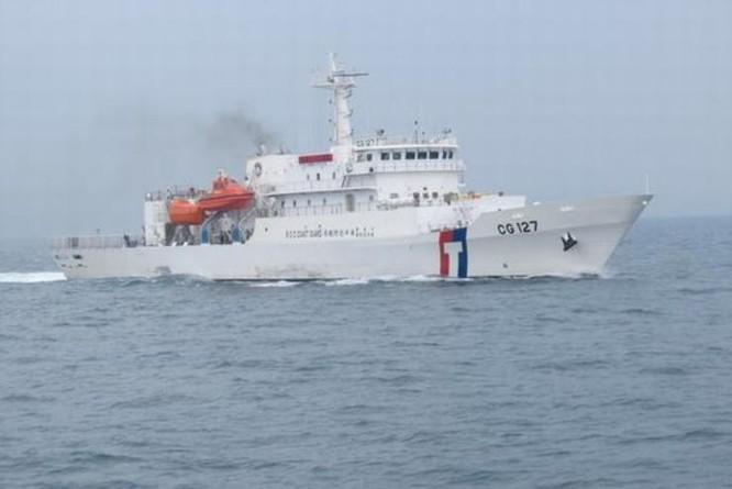 Tàu tuần tra Tân Bắc, Đài Loan (ảnh tư liệu)