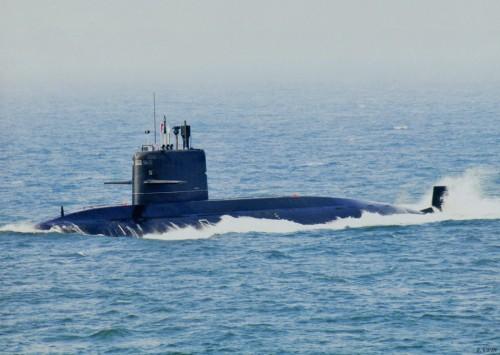 Tàu ngầm thông thường lớp Nguyên Type 039B của Hải quân Trung Quốc (ảnh tư liệu).