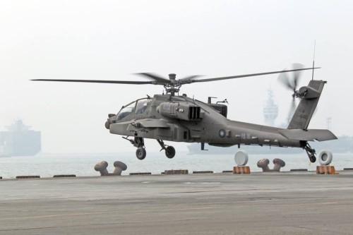 Máy bay trực thăng AH-64E Đài Loan mua của Mỹ (ảnh tư liệu)