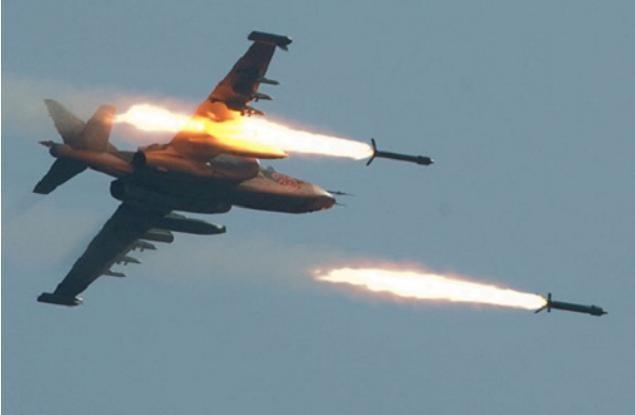 Nga không kích IS ở Syria (ảnh tư liệu)