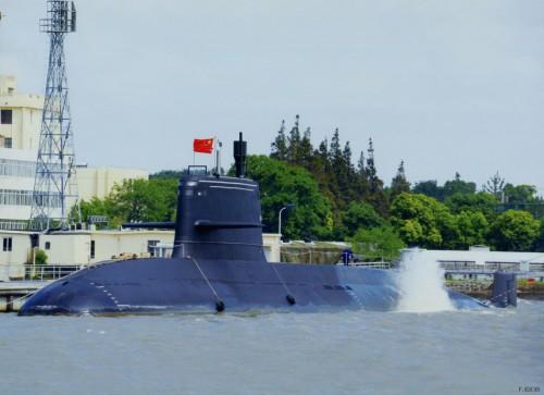 Tàu ngầm thông thường Type 039B lớp Nguyên Hải quân Trung Quốc. Ảnh: Sina