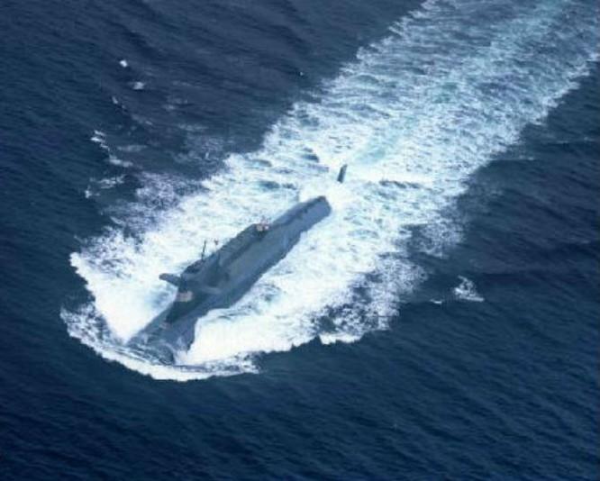 Tàu ngầm hạt nhân Trung Quốc. Ảnh: Cankao