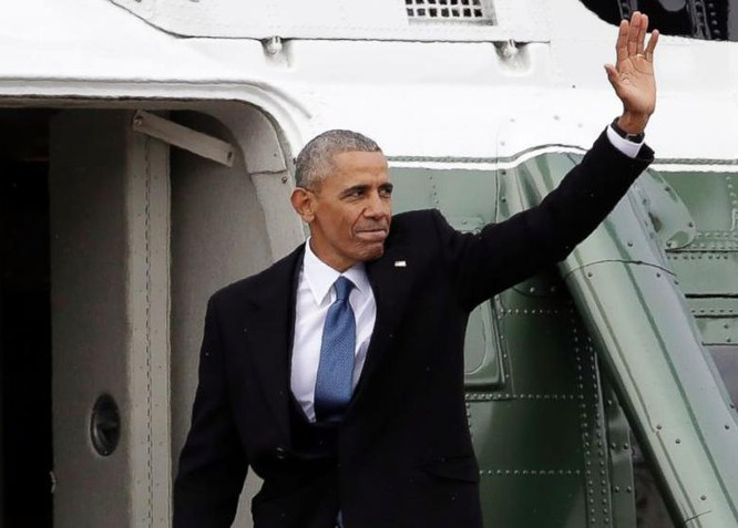 Ông Barack Obama đã rời Nhà Trắng, trở thành cựu Tổng thống Mỹ. Ảnh: ABC News