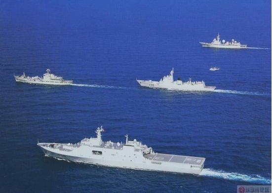Hạm đội Nam Hải, Hải quân Trung Quốc (ảnh tư liệu)